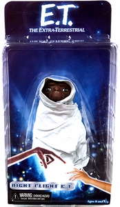 NECA E.T. 30th Anniversary Series 2 Action Figure Night Flight ET [Blanket]