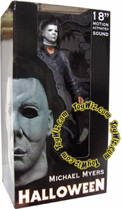 NECA Reel Toys 18 Inch Action Figure Michael Myers Halloween with Motion Activated Sound