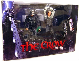 NECA The Crow Action Figure 2-Pack Boxed Set Eric Draven & Top Dollar