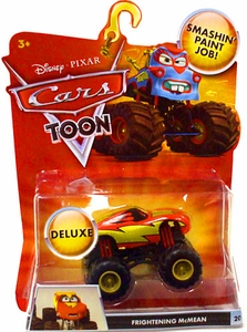 Disney / Pixar CARS TOON 1:55 Die Cast Car Oversized Vehicle Frightening McMean