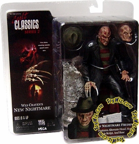NECA Cult Classics Series 2 Action Figure Freddy Krueger [Wes Cravens New Nightmare]
