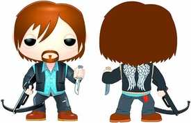 Funko POP! Walking Dead PX Previews Exclusive Vinyl Figure Biker Daryl Dixon New!