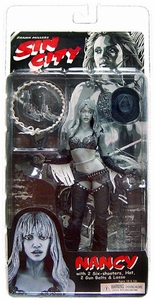 NECA Sin City Movie Action Figures Series 1 Nancy with Straight Hair (Jessica Alba)