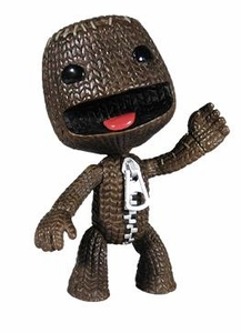 Mezco Toyz Little Big Planet 4 Inch Series 1 Action Figure Sackboy [Open Mouth]