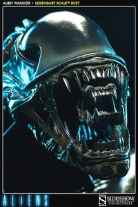 Aliens Sideshow Collectibles Legendary Scale Bust Alien Warrior Pre-Order ships July