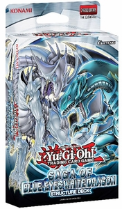 YuGiOh Saga of Blue-Eyes White Dragon 1st EDITION Structure Deck Hot!