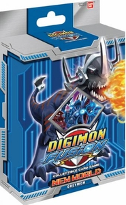Digimon Fusion Collectible Card Game Starter Deck Greymon New Hot!