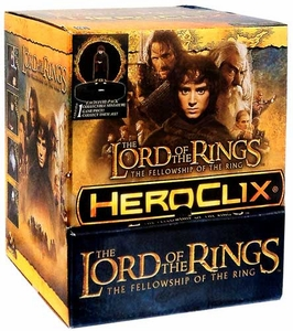 Lord of the Rings Fellowship of the Ring HeroClix Gravity Feed Box [24 Packs]