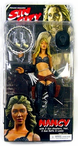 NECA Sin City Movie Series 1 Action Figure Nancy with Straight Hair (Jessica Alba)  [Color Variant]