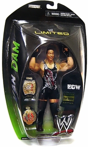 WWE Wrestling Exclusive Limited Edition of 5,000 Action Figure RVD Rob Van Dam [WWE & ECW Belts]