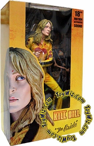 NECA Kill Bill 18 Inch Deluxe Action Figure with Motion Activated Sound The Bride [Uma Thurman]