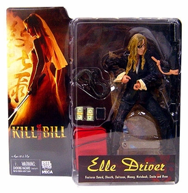 NECA Kill Bill 7 Inch Action Figure Elle Driver
