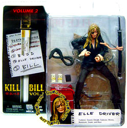 NECA Kill Bill 7 Inch Action Figure Series 2 Elle Driver