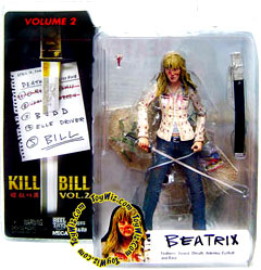 NECA Kill Bill 7 Inch Action Figure Series 2 Beatrix Kiddo