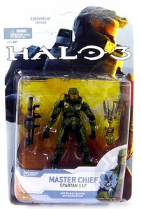 Halo 3 McFarlane Toys Series 4 [2009 Wave 1] Action Figure Master Chief [Rocket Launcher & Bubble Shield]
