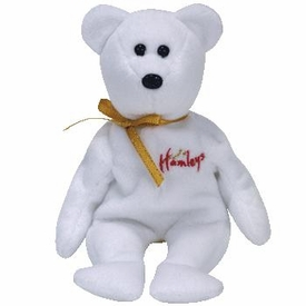 Ty Beanie Baby Hamley's UK Exclusive William the White Bear