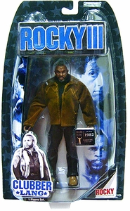 Jakks Pacific Rocky III (Series 3) Action Figure Clubber Lang in Street Gear [Mr. T]