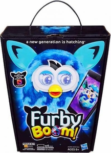Furby Boom Sweet Figure Blue Waves