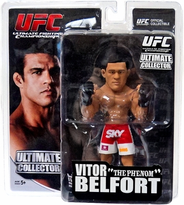 Round 5 UFC Ultimate Collector Series 11 Action Figure Vitor Belfort [Red & White Trunks]