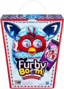 Furby Boom Figure Festive Sweater Edition