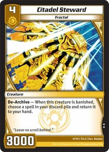 Kaiudo Clash of the Duel Masters Single Card Uncommon #4 Citadel Steward