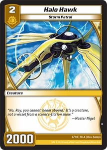 Kaiudo Clash of the Duel Masters Single Card Common #6 Halo Hawk