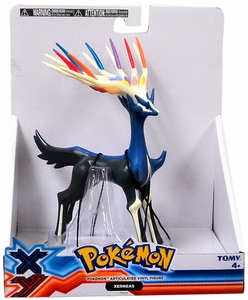 Pokemon X & Y TOMY 7 Inch Articulated Vinyl Figure Xerneas