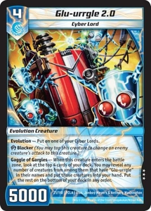 Kaiudo Clash of the Duel Masters Single Card Rare #21 Glu-urrgle 2.0