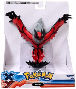 Pokemon X & Y TOMY 7 Inch Articulated Vinyl Figure Yveltal