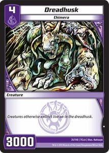 Kaiudo Clash of the Duel Masters Single Card Common #31 Dreadhusk