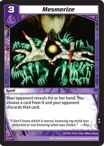Kaiudo Clash of the Duel Masters Single Card Uncommon #35 Mesmerize