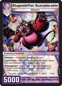 Kaiudo Clash of the Duel Masters Single Card Very Rare #36 Shapeshifter Scaradorable