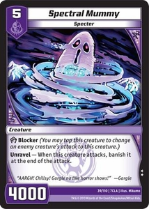 Kaiudo Clash of the Duel Masters Single Card Uncommon #39 Spectral Mummy