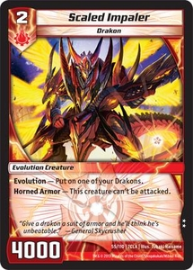 Kaiudo Clash of the Duel Masters Single Card Uncommon #55 Scaled Impaler