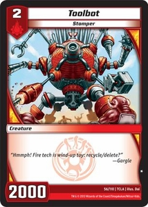 Kaiudo Clash of the Duel Masters Single Card Common #56 Toolbot