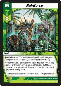 Kaiudo Clash of the Duel Masters Single Card Common #64 Reinforce
