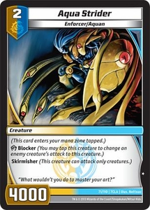 Kaiudo Clash of the Duel Masters Single Card Common #71 Aqua Strider