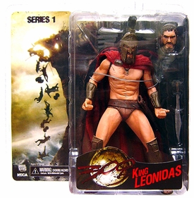 NECA Frank Miller's 300 Movie Series 1 Action Figure King Leonidas