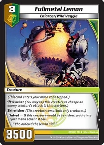 Kaiudo Clash of the Duel Masters Single Card Common #81 Fullmetal Lemon