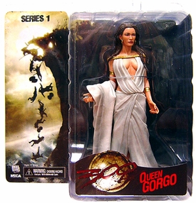 NECA Frank Miller's 300 Movie Series 1 Action Figure Queen Gorgo BLOWOUT SALE!