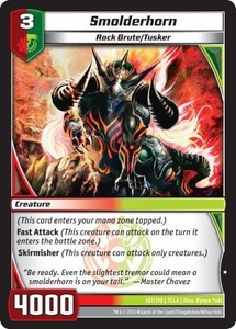 Kaiudo Clash of the Duel Masters Single Card Common #107 Smolderhorn