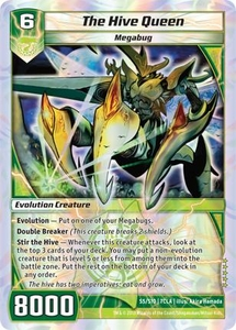 Kaiudo Clash of the Duel Masters Single Card Super Rare #S5 The Hive Queen
