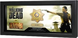 Walking Dead Gentle Giant Prop Replica Rick Grimes Badge Pre-Order ships April