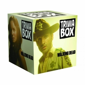 Walking Dead TV Trivia Box Game Pre-Order ships August