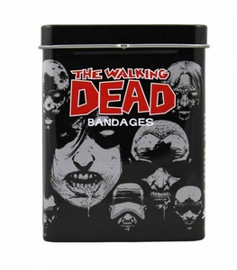 Walking Dead Adhesive Bandage Tin Pre-Order ships March