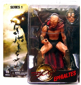 NECA Frank Miller's 300 Movie Series 1 Action Figure Ephialtes BLOWOUT SALE!