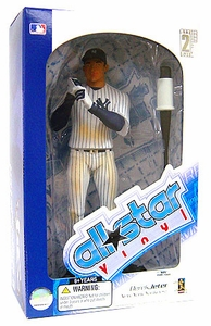 Upper Deck Authenticated All Star Vinyl Figure Derek Jeter (Pinstripe Jersey) Limited to 1000 Pieces