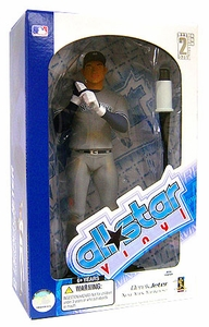 Upper Deck Authenticated All Star Vinyl Figure Derek Jeter [Gray Jersey] Only 500 Made!