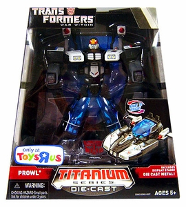 Transformers Hasbro Titanium War Within 6 Inch Diecast Figure Prowl