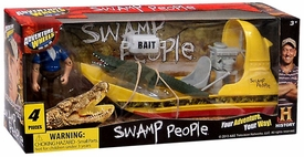Swamp People Vehicle & Figure Playset Troy & Swamp Boat